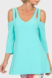 Joseph Ribkoff USA Inc. Cut-Out Tunic - Product Mini Image