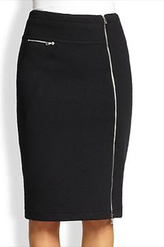 CUT25 BY YIGAL AZROUEL Patchwork Pencil Skirt - Product List Image