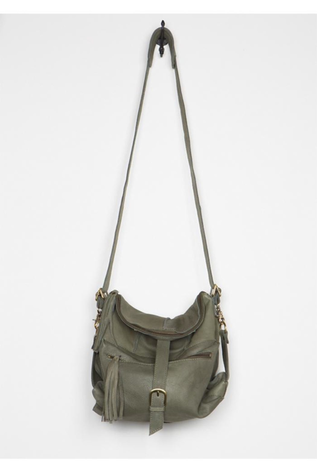 Cut n' Paste Tia Convertible Backpack - Front Cropped Image