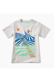Tea Collection Cutback Graphic Tee - Front cropped