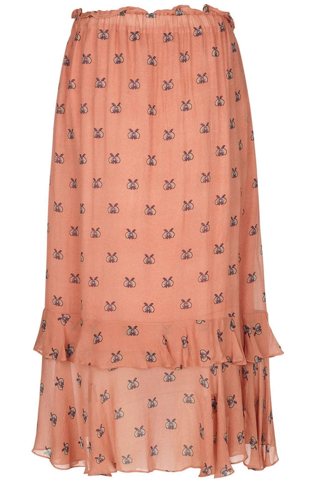 Munthe Cute Bunnies Skirt - Back Cropped Image