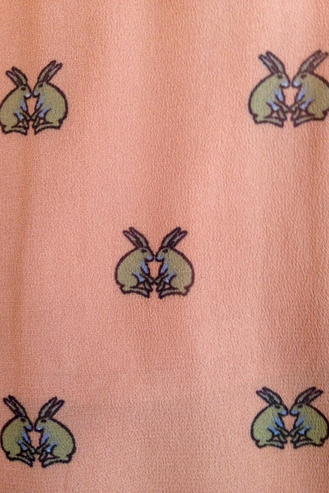 Munthe Cute Bunnies Skirt - Side Cropped Image
