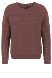 Tribal  Cute Cable Sweater - Product Mini Image