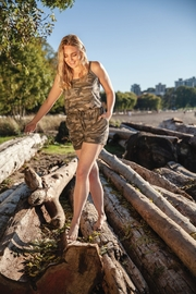 Papillon Cute Camo Romper - Product Mini Image