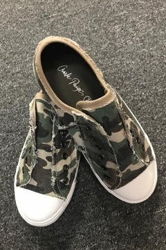Charlie Paige  Cute Camo Sneakers - Product List Image