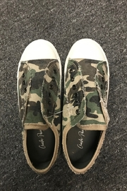 Charlie Paige  Cute Camo Sneakers - Front full body