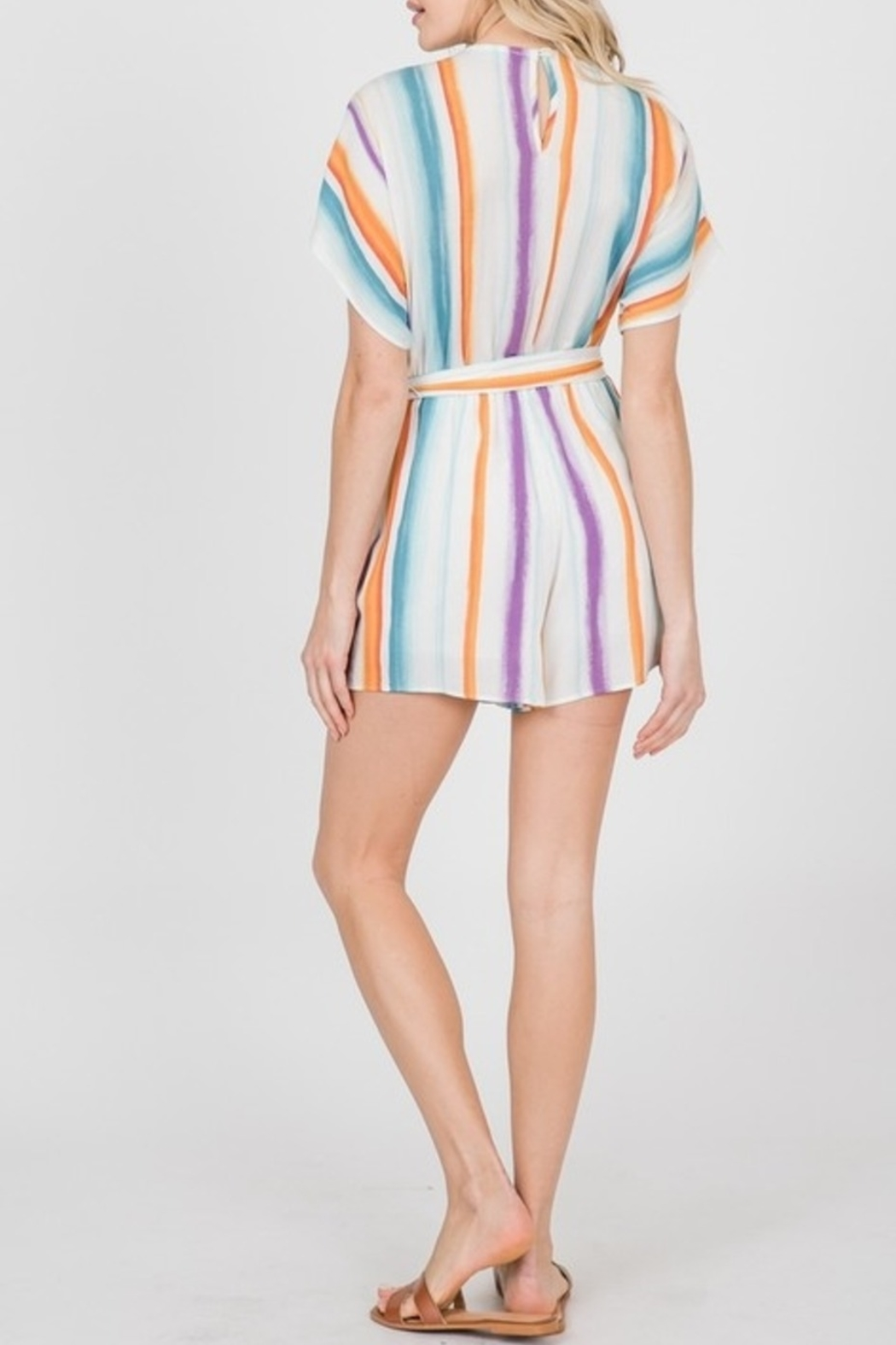 Ces Femme Cute & Colorful romper - Front Full Image