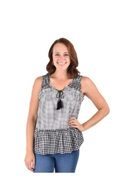Tru Blue Clothing  Cute country shirt - Front cropped