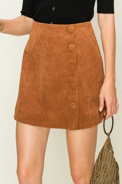 Shoptiques Product: Cute In Corduroy skirt