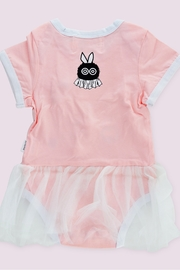 T & Tim Cute Pink Ballerina Bodysuit with Lace Dress - Side cropped