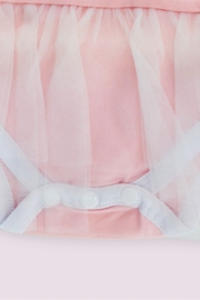 T & Tim Cute Pink Ballerina Bodysuit with Lace Dress - Other