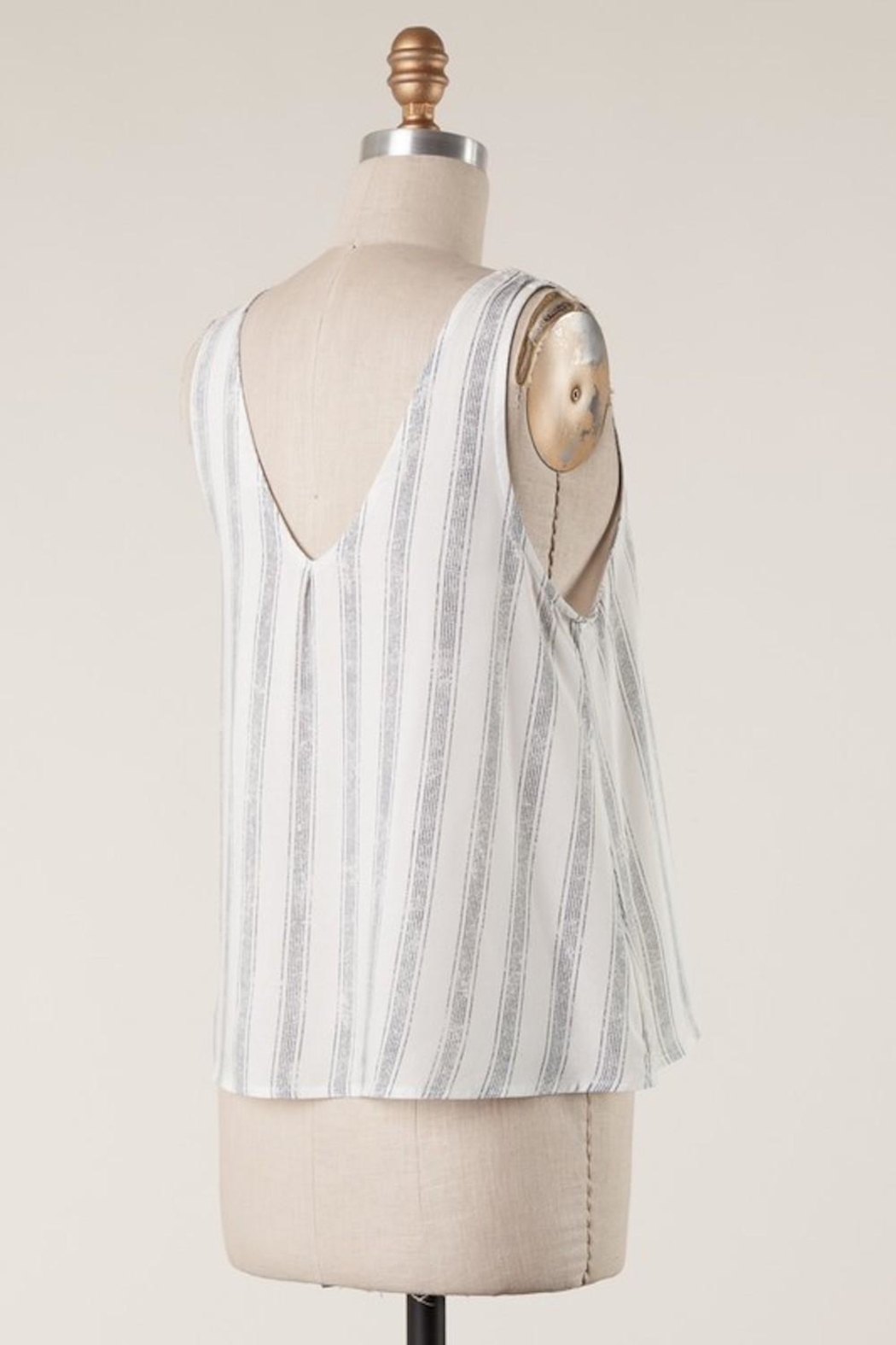 Millibon Cutest Striped Tank - Side Cropped Image