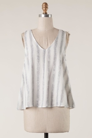 Millibon Cutest Striped Tank - Front cropped