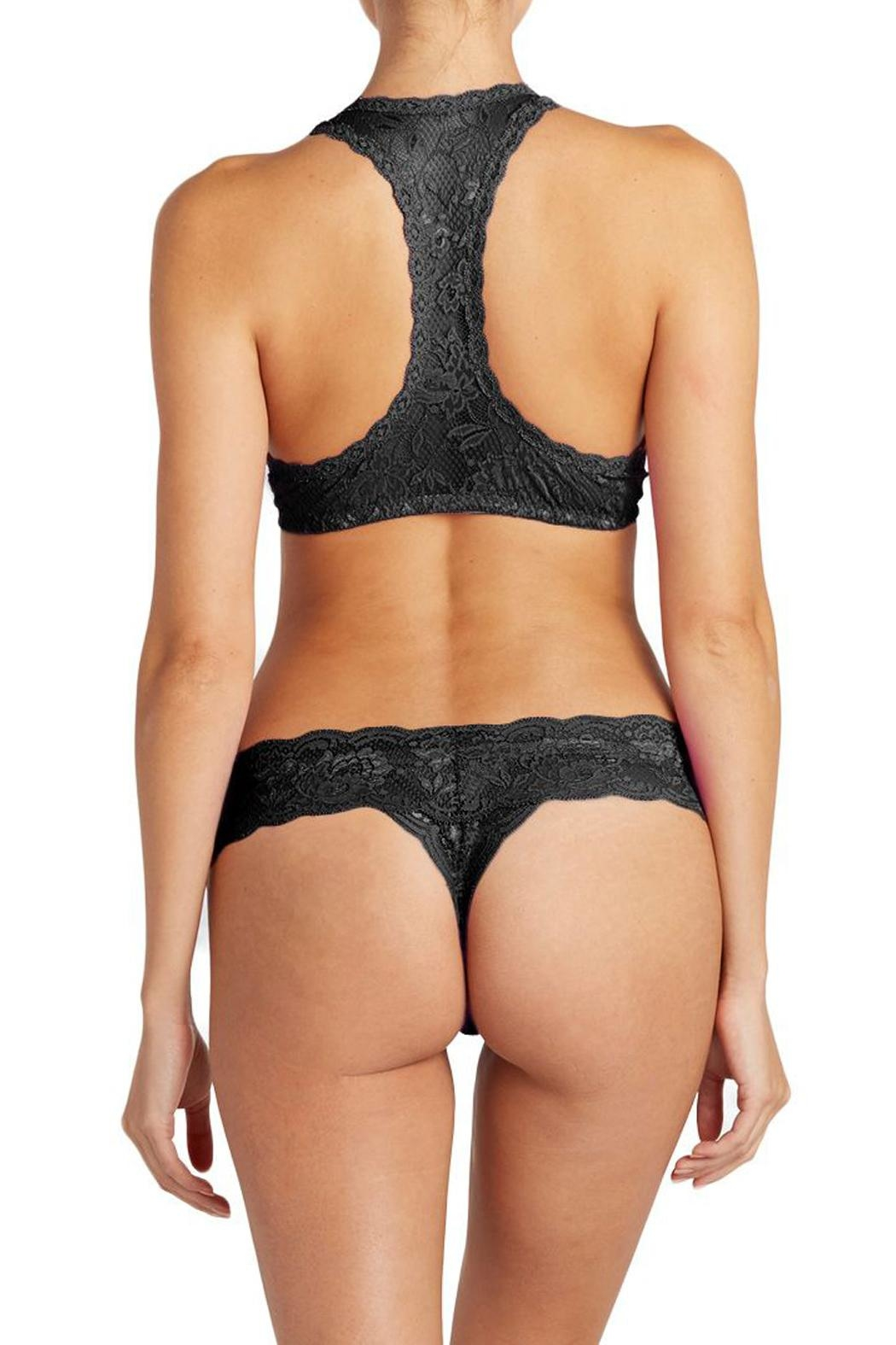 Cosabella Lingerie Cutie Bow Thong - Front Full Image