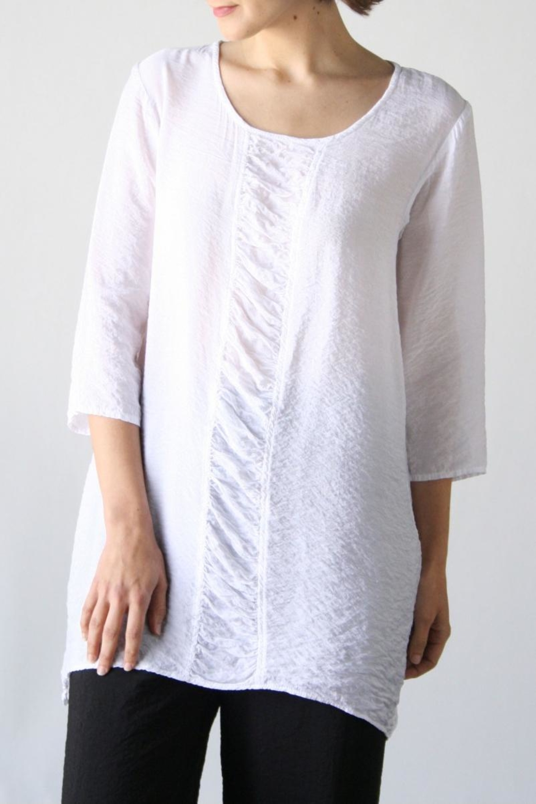Cutloose Placket Tunic - Main Image