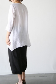 Cutloose Placket Tunic - Front full body
