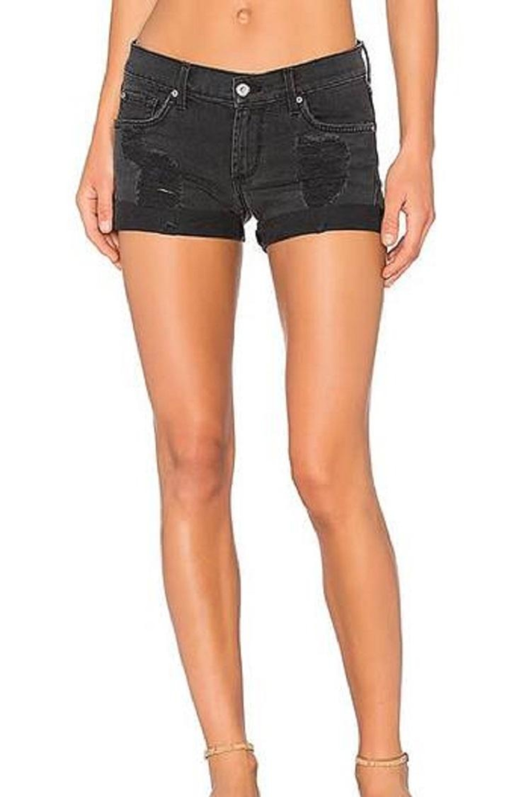 James Jeans Cutoff Rolled Shorts - Main Image