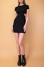 Le Lis Cutout Bodycon Dress - Front cropped