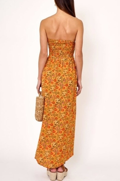Olivaceous Cutout Floral Dress - Alternate List Image