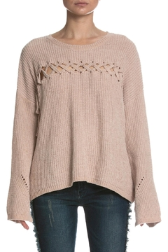 Shoptiques Product: Cutout Front Sweater