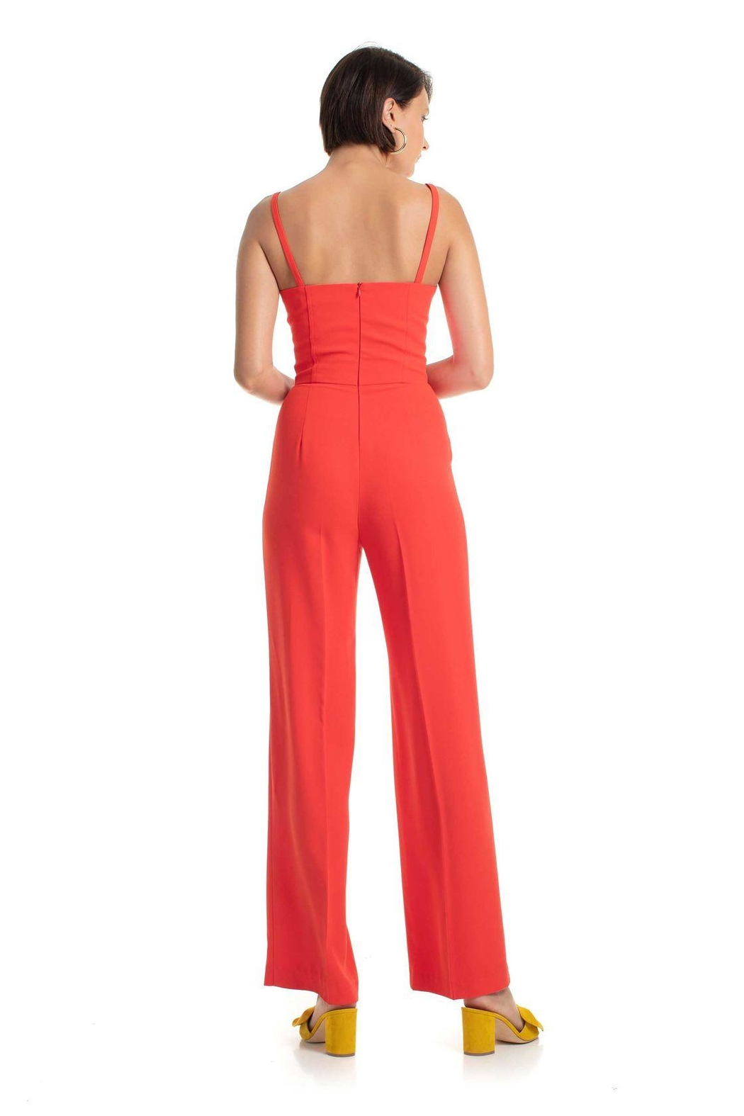 Trina Turk Cutout Jumpsuit - Front Full Image