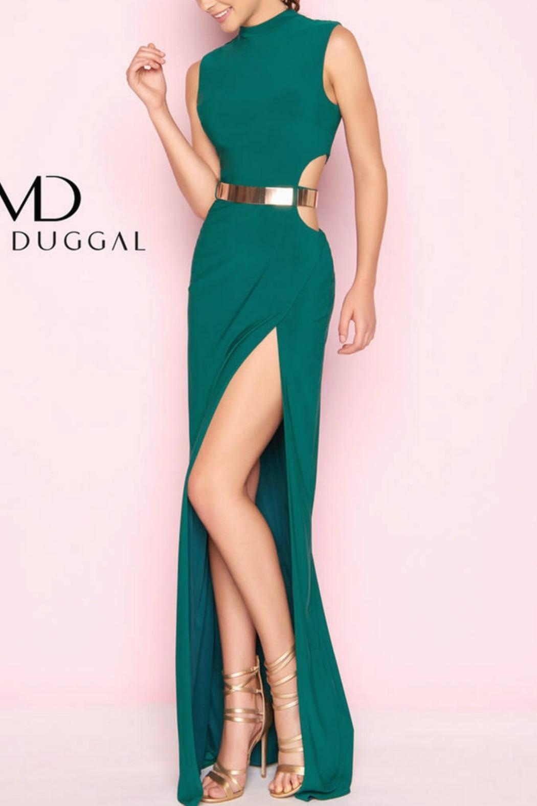 Mac Duggal Cutout Modern Gown - Front Cropped Image