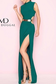 Mac Duggal Cutout Modern Gown - Product Mini Image