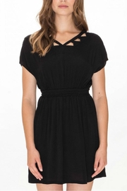 PepaLoves Cutout Neckline Dress - Product Mini Image