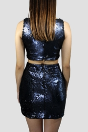 SoZu Cutout Sequin Dress - Side cropped