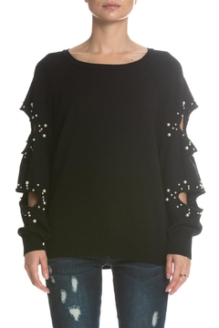 Shoptiques Product: Cutout Sleeve Sweater