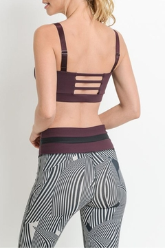 Mono B Cutout Sportsbra - Alternate List Image