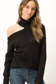 Mystree Cutout Sweater - Front cropped