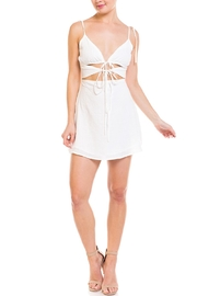 Emory Park Cutout Tie Dress - Product Mini Image