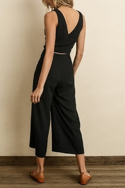 Dress Forum  Cutout Wrap Jumpsuit - Side cropped