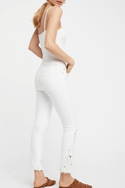 Free People Cutwork Cigarette Jeans - Other