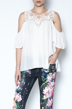 Shoptiques Product: Crochet Lace Top