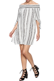 CY USA Off Shoulder Dress - Front full body