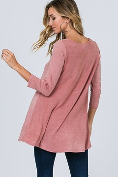 CY Fashion Cage Detail Tunic Top - Alternate List Image