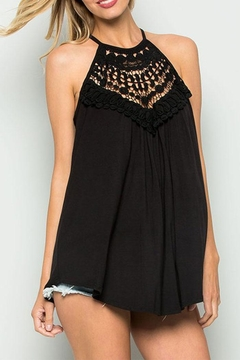 CY Fashion Crochet Lace Detail Tank Top - Product List Image
