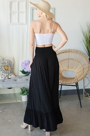 CY Fashion Elastic Waist Tiered Skirt - Other