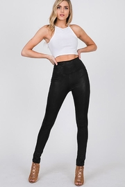 CY Fashion Faux Leather High Waist Leggings - Product Mini Image