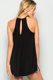 CY Fashion Lace Detail Tank-Top - Front full body