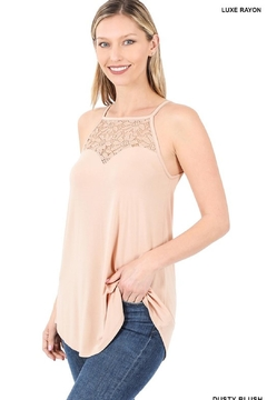 CY Fashion Lace-Paneled Halter-Style Cami - Product List Image