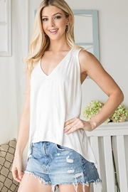 CY Fashion Lace Trim Tank Top - Other