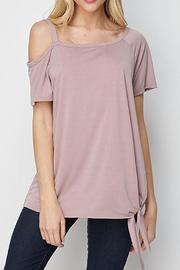 CY Fashion One Shoulder Top - Front cropped