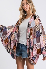 CY Fashion Open Front Kimono Cardigan - Product Mini Image