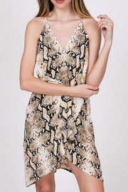 CY Fashion Snake Print Dress - Side cropped