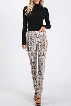 CY Fashion Snake Print Leggings - Product List Image