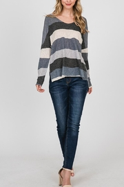 CY Fashion Striped Top - Product Mini Image