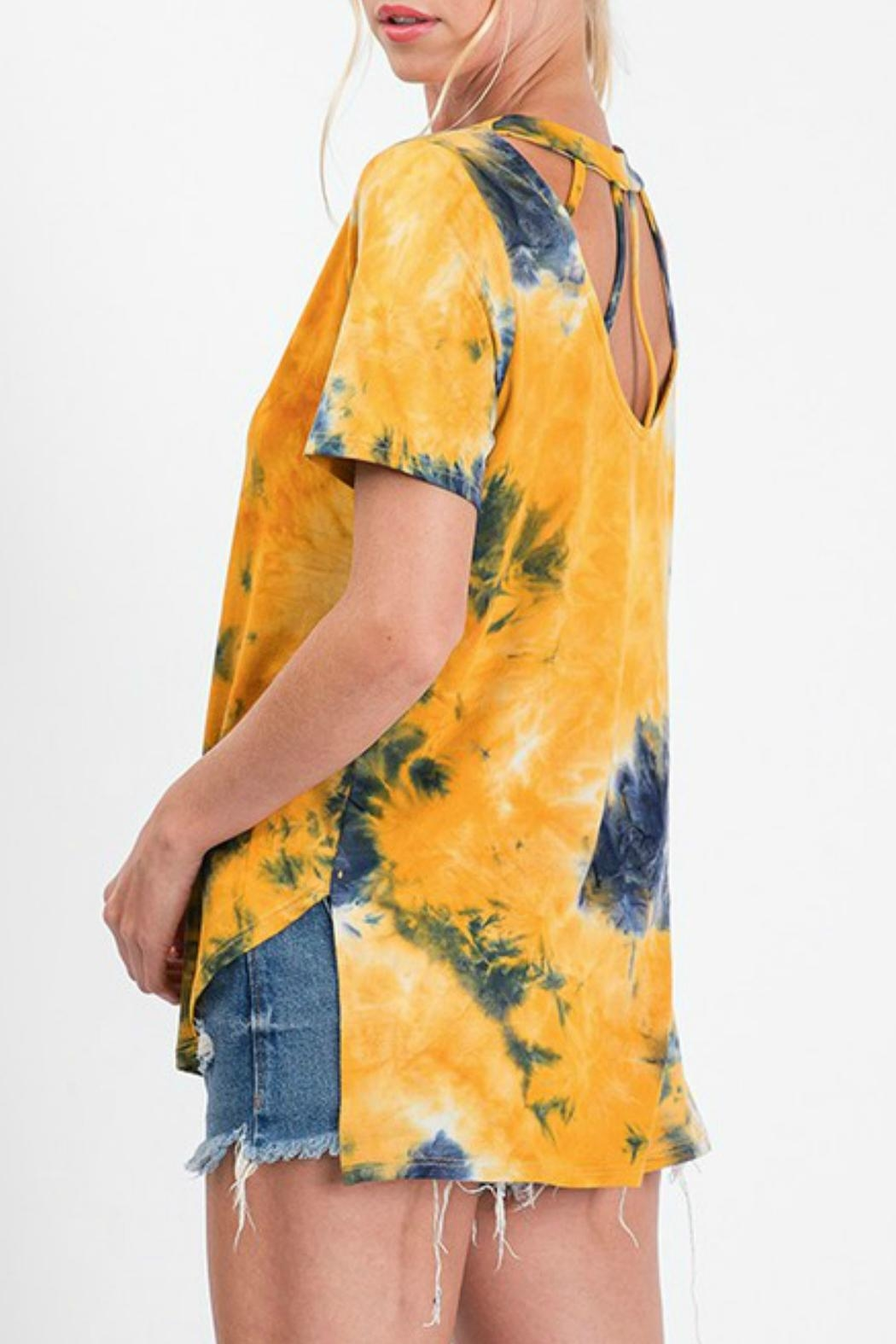 CY Fashion Tie Dye Top - Front Full Image